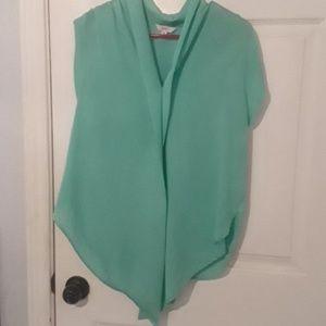Candies mint green blouse